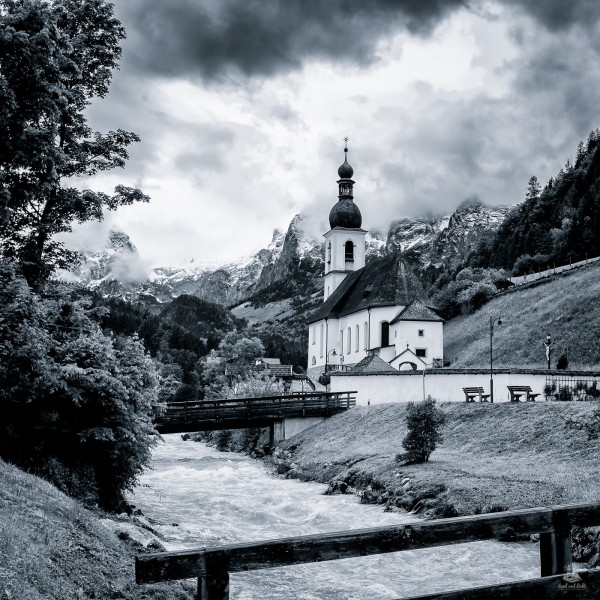 Malerwinkel in Ramsau bei Berchtesgaden